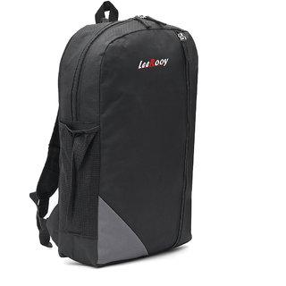 5fec7f6cfeab Buy LeeRooy Canvas 18 Ltr Black School Bag Backpack For Men Online - Get 31%  Off