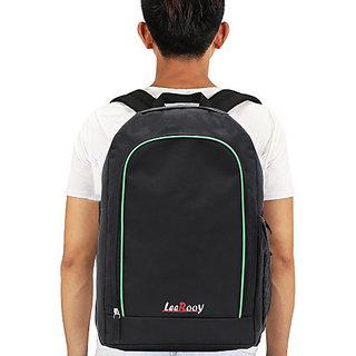 92676a742c25 Buy LeeRooy Canvas 18 Ltr Black Multipurpose Bag Backpack For Men Online - Get  31% Off