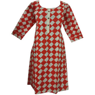 K T Collection Cotton Maternity Feeding Kurti With Vertical Zippers Size XL KTMTRN40