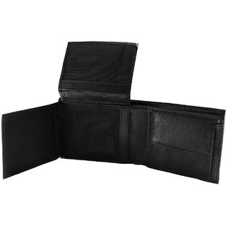 Mens Genuine Leather Wallet with Card Holder Album