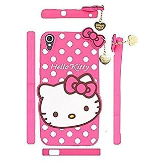 pretty nice 4ab3c b3ef9 CUTE SUPER SOFT Hello Kitty Baby Pink Color Back Cover For OPPO A 37 - Best  Beautiful Flexible Cover