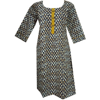 K T Collection Cotton Maternity Feeding Kurti With Vertical Zippers Size XL KTMTRN41