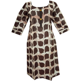 K T Collection Cotton Maternity Feeding Kurti With Vertical Zippers Size XL KTMTRN42