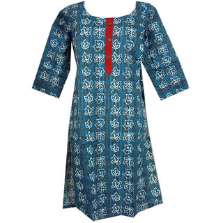 K T Collection Cotton Maternity Feeding Kurti With Vertical Zippers Size XL KTMTRN43