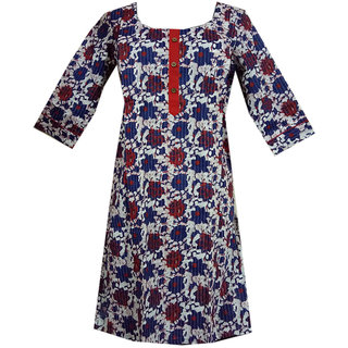 K T Collection Cotton Maternity Feeding Kurti With Vertical Zippers Size XL KTMTRN44