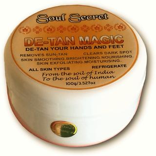 DE-TAN MAGIC de-tan your hands and feet