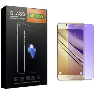 Adoniss Anti Blue Mobile Tempered Glass Protector (Pack of 1) for Samsung J7 Prime
