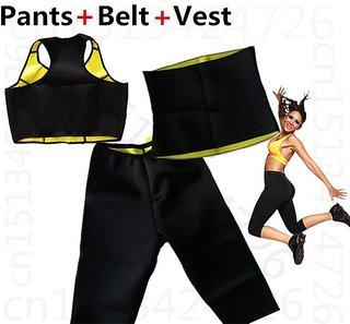 Dealsnbuy Shapewear Complete Set (Vest-Pant-Belt)