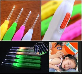 Safety Ear Pick Wax Remover Ear-pick - With Light, Ear Cleaner