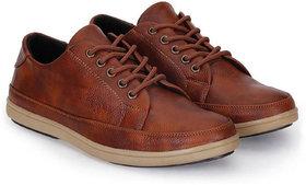 Crown Sapphire Men's Tan Sneakers