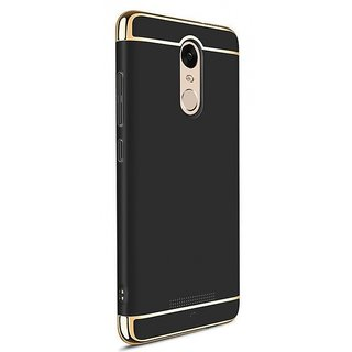 RGW Back Case Cover for Redmi Note 5 Black