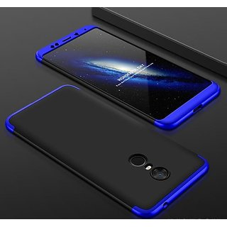 RGW Back Case Cover for Redmi 5 Blue