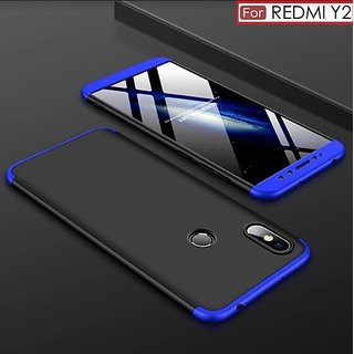 RGW Back Case Cover for Redmi Y2 Blue