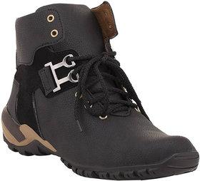 Crown Sapphire Men's Black Boots
