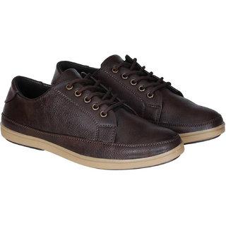 Crown Sapphire Men's Brown Sneakers