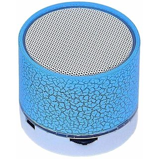 Wireless LED Bluetooth Speakers FM Radio for All Android iPhone Smartphones Randon Color
