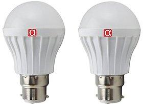Alpha B22 Warm White 5 Watt LED Bulbs (Pack of 2)