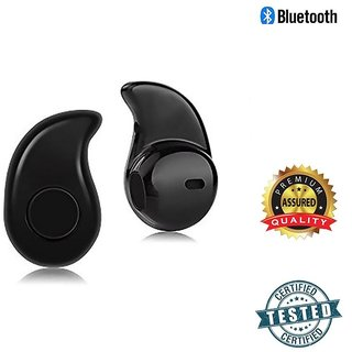 Mini Wireless Bluetooth Stereo In-Ear Earphone Headphone Headset Earpiece with premium quality charging cable kaju