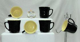 Tea cups, set of 6 pcs
