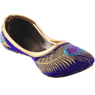 Femmecrafts Women's Blue Bellies