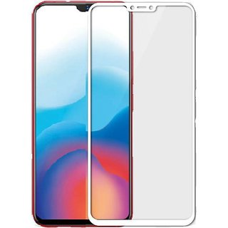 Buy Vivo V9 Anti Scratch Crystal Clarity 5d Curved Tempered Glass