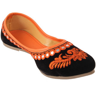 Femmecrafts Women's Orange Bellies