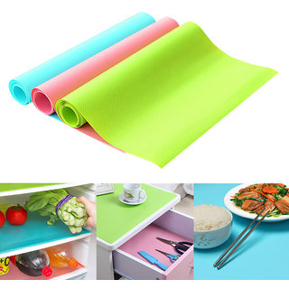 Refrigerator Antibacterial Moisture Absorption Fridge Washable Mat
