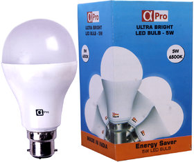 Alpha Pro 5 Watt Warm White LED Bulb (Pack of 1)