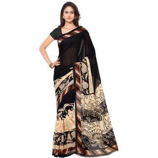 5ea03584e1b34 Buy Anand Sarees Printed Fashion Faux Georgette Saree Online - Get ...