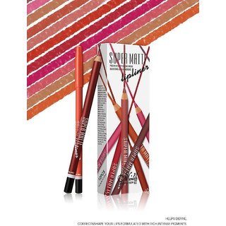 Me Now Super Matte Lip Liner Pencil (Set of 12)