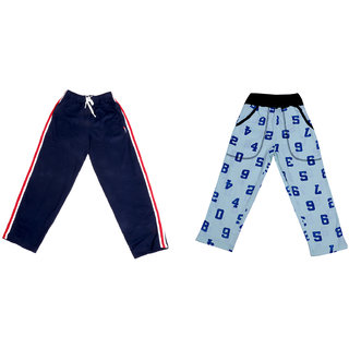 Indiweaves Boy's Cotton Trackpants Lower Pajama (Pack of 2)