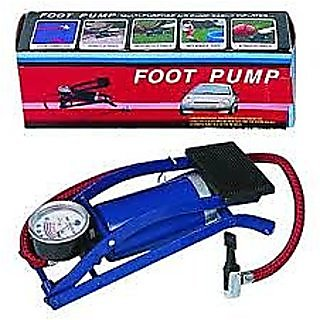 Blue Multi - Purpose Air Foot Pump