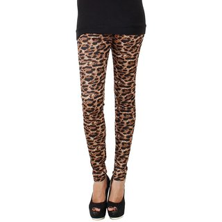 Imported Imported streachable women Tiger Print jeggings or  leggings set