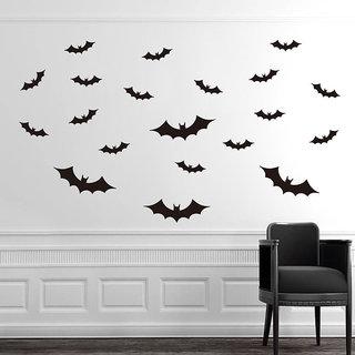 20 X Halloween Bats Wall Sticker DIY Removable Vinyl Art Halloween Wall Decal 5