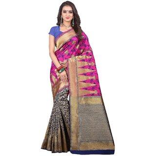 pr creation self design woven bnarasi silk saree daily wear saree with blouse party wear saree