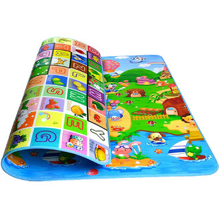 Polyester Double Sided Water Proof Baby Crawl Play Mat 130x180cm