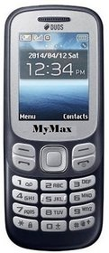 My Max 312 Dual Sim Mobile Phone With 1.8 Inch Display,