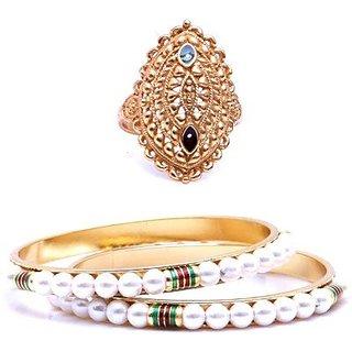GoldNera Brass Jewel Set