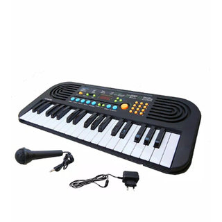 OH BABY, BABY 37 Keys Melody Piano With Dual Speakers, Recording Mic And Power Saving Mode Toy SE-ET-559