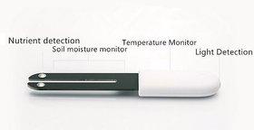 Generic Original 4 In 1 Flower Plant Light Temperature Tester Garden Soil Moisture Nutrient Monitor