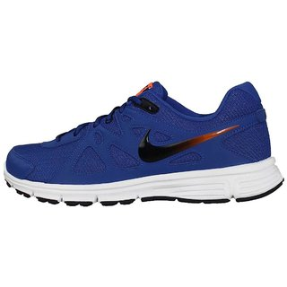 timeless design a3873 6e9e1 Buy Nike Mens Revolution 2 MSL Blue Running Shoes Online - G