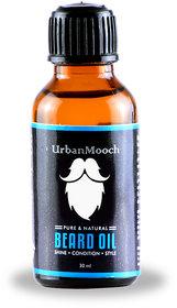 UrbanMooch Beard Oil for Nourishment, Shine  Conditioning 30ml