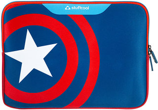 Stuffcool MARVEL Soft Laptop Sleeve for upto 15.4 Inch Macbook Pro/14 Inch Laptop - Official MARVEL  Licensed Product