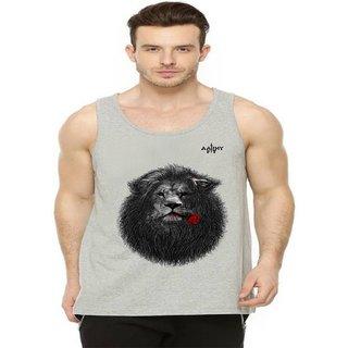 aarmy fit mens grey vest