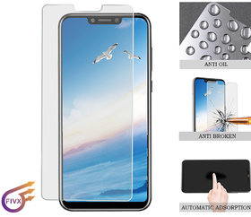 FIVX Huawei Honor Play 2.5D Tempered Glass Screen Protector Anti Glare Anti Scratch Anti Touch Water Proof
