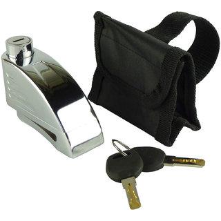 Abroa AJT0X9 Intelligent Disc Brake lock Moterbike/Motorcycle Anti-Theft Security Lock with 110dB Siren