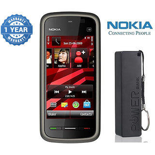 Nokia 5233 / Good Condition/ Certified Pre Owned (1 Year Warranty) with 2600 mAh Powerbank