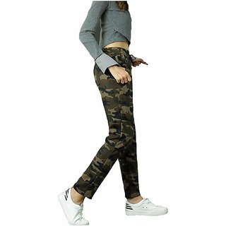 Military Sports Gym High Waist Rise Compression Stretchable Leggings