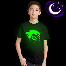 Crazy Prints Baby Toddlers Glow in Dark T shirt for Kids
