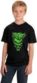 Crazy Prints Glow in Dark Joker T shirt for Kids